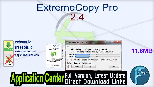 ExtremeCopy Pro 2.4