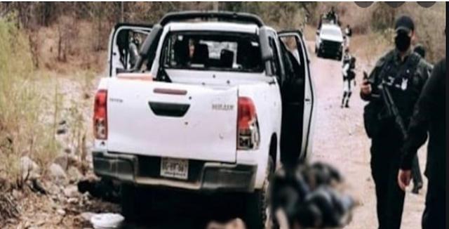 Rusos vs Ninis se toparon en Tepuche,Sinaloa; a los heridos se los llevaron sangrando y los muertos fueron rescatados