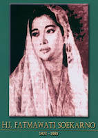 gambar-foto pahlawan nasional indonesia, Ibu Fatmawati Soekarno