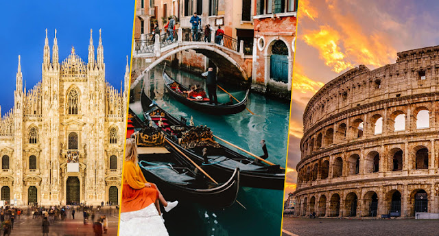 Top 9 places to visit in Italy