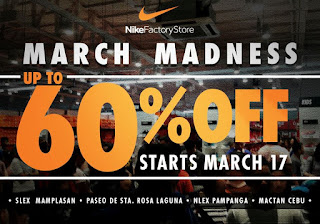 Nike Factory Store sale, Nike Factory Store 60% off