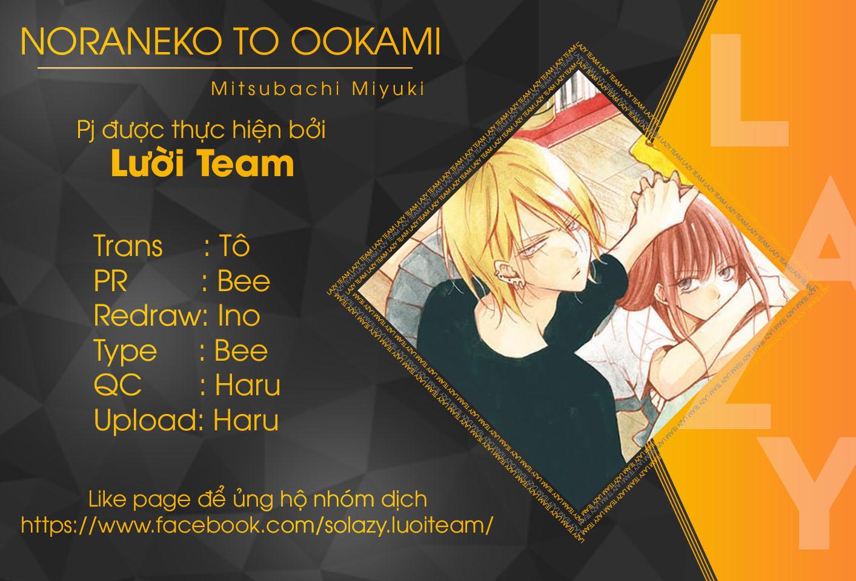 Noraneko to Ookami chap 2 - Trang 1