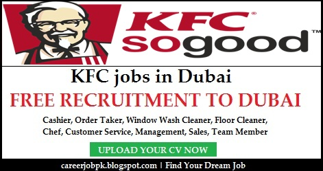 KFC jobs in Dubai