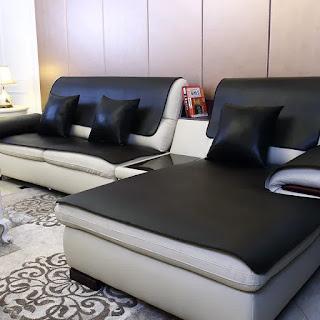 Делаем сложный выбор: кожаный или тканевый диван