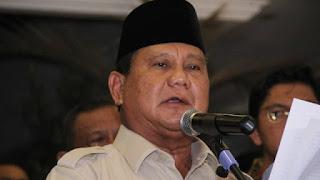 Prabowo: Saya Cemas atas Apa yang Terjadi di Negara Kita