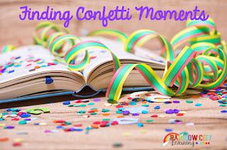 Confetti Moments in Reading