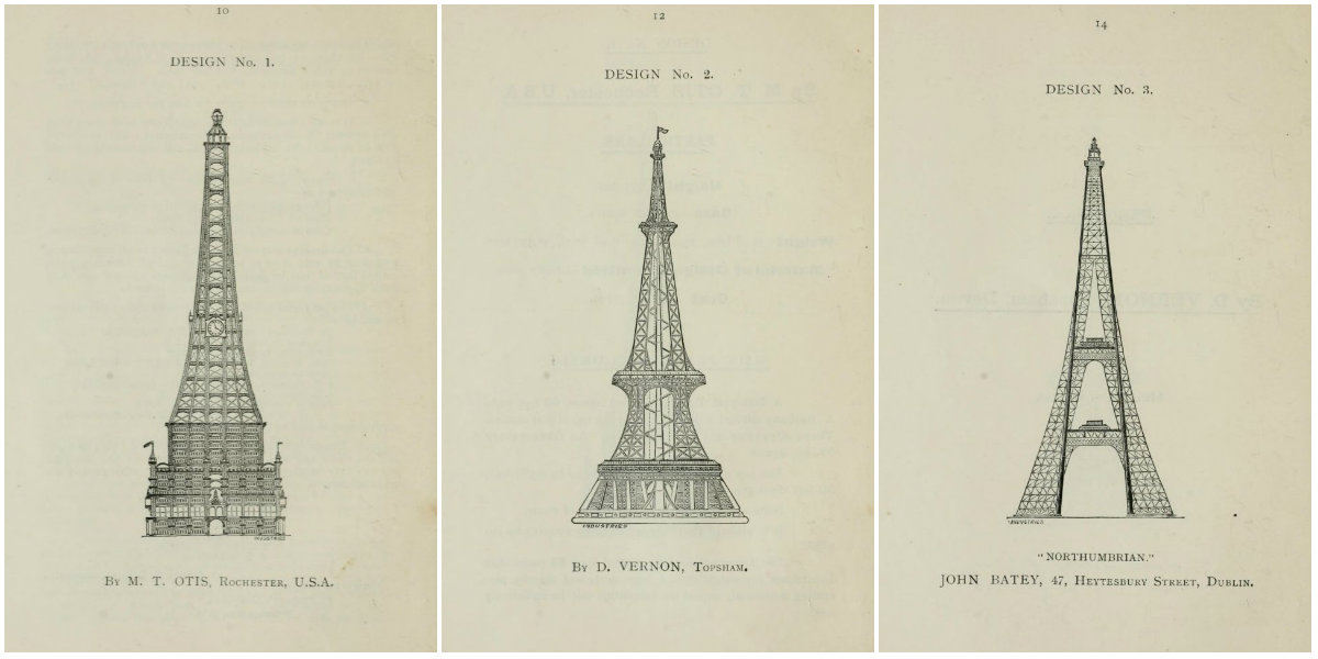 Gallery Of 68 Competitive Designs For The Great Tower For London