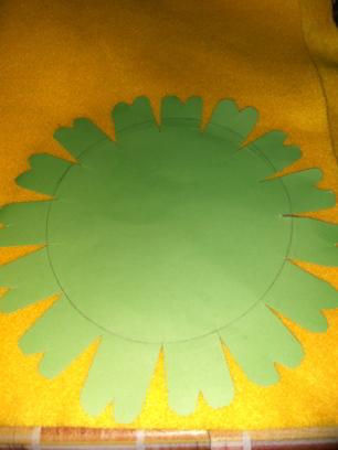 (DIY) Tutorial Membuat Bunga Matahari dari Kain Flanel