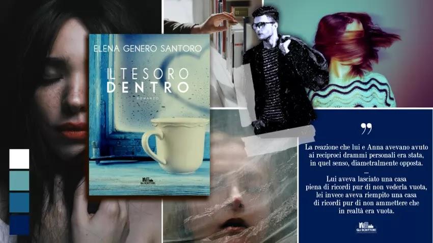 Il tesoro dentro, un romance psicologico di Elena Genero Santoro