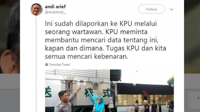 andi arief, viral