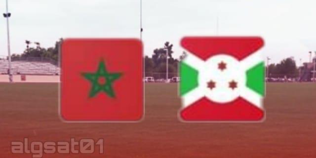 المغرب ضد بوروندي - المغرب و بوروندي - المغرب vs بوروندي - المغرب - بورندي - تصفيات كأس الأمم الإفريقية 2021