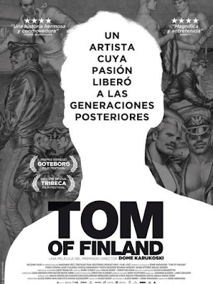 Tom Of Finland 2017 DVD R2 PAL Spanish