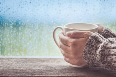 rainy season and tea