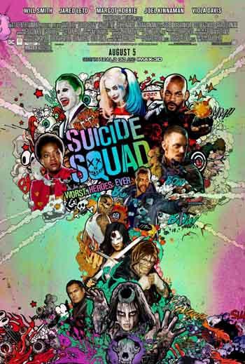 Suicide Squad 2016 480p 400MB BRRip Dual Audio [Hindi - English]