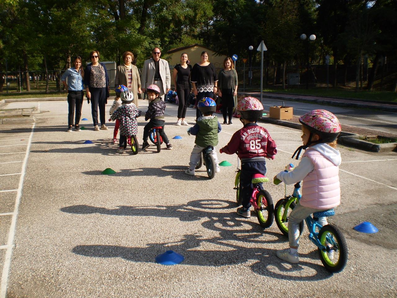 Έναρξη λειτουργίας του Πάρκου Κυκλοφοριακής Αγωγής Δήμου Λαρισαίων