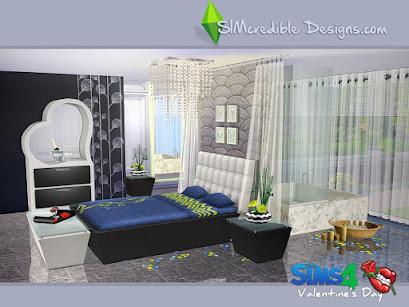День св. Валентина — наборы мебели и декора для Sims 4 со ссылками для скачивания