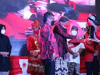 PDIP Anugerahi Ganjar Penghargaan Spesial Trisakti Tourism Award 2021