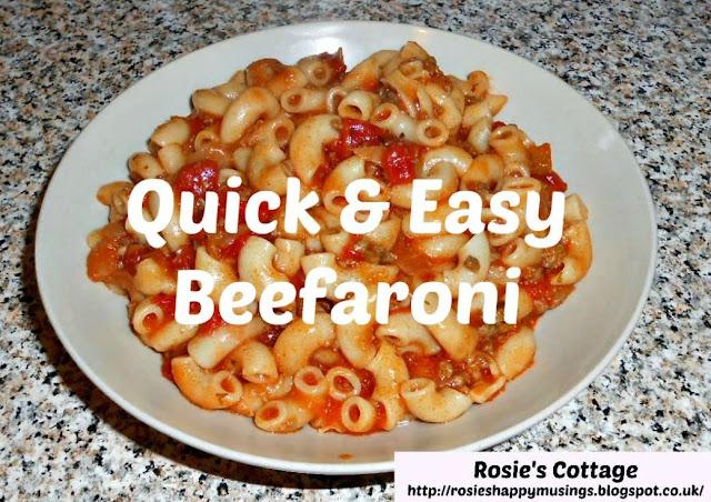 Quick & Easy Beefaroni