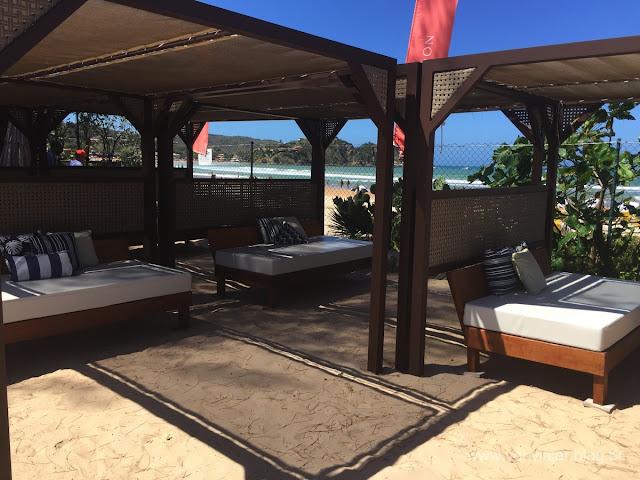 Lounges do Uniq Beach Lounge