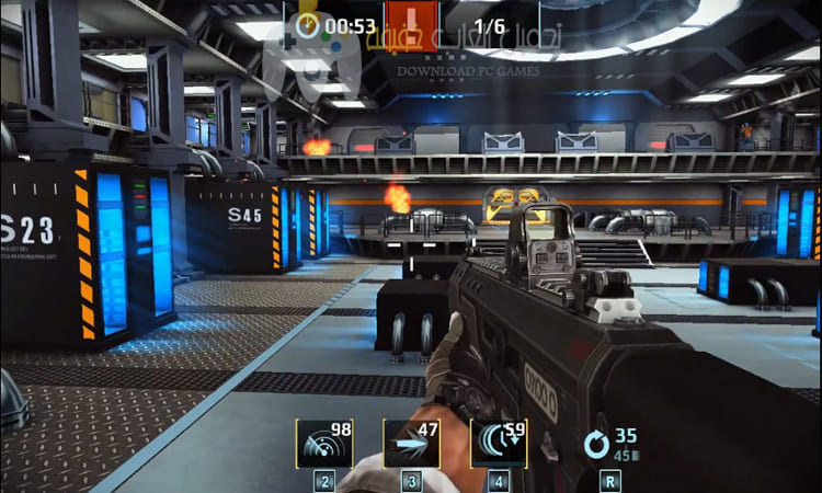 تحميل لعبة القناص Sniper Fury برابط مباشر