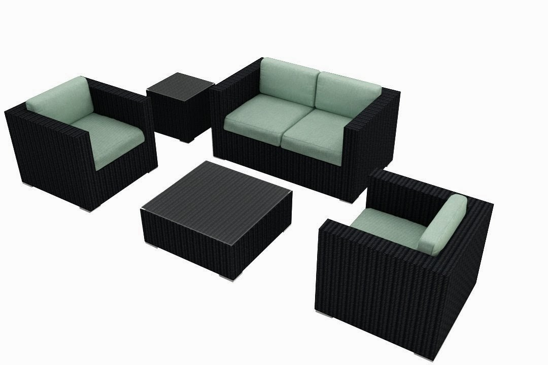 ... Sunbrella Cushions (SKU HL-URBN-4SS-SP) - Outdoor Patio Furniture Sofa