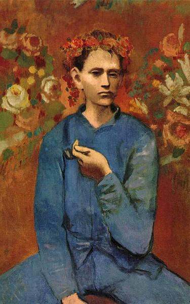 """Pablo Picasso - """"O menino do cachimbo"""