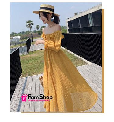 Shop váy maxi đi biển ở Ba Đình