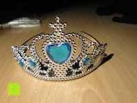 Diadem: Prinzessin Kostüm Karneval Verkleidung Party Cosplay Handschuhe Zauberstab