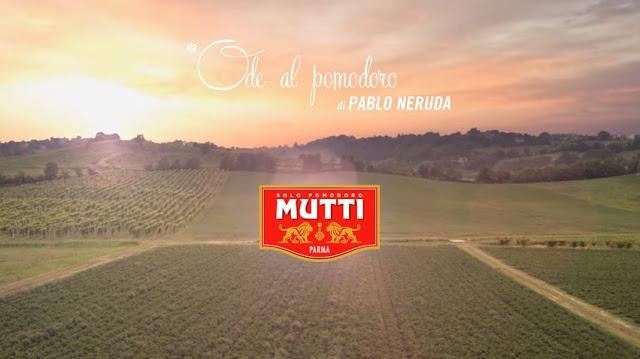 Musica Mutti Ode al Pomodoro Pubblicità ottobre 2016