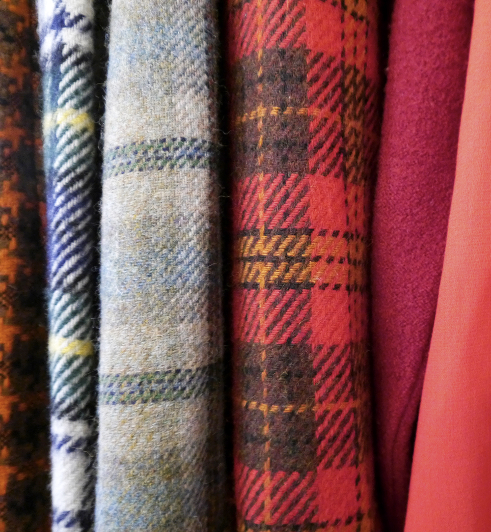 vintage fair, Lou Lou's Vintage fair, vintage shopping, Dundee, Scottish vintage fair, vintage event, Check pattern, tartan jackets, tweed jackets