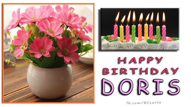 doris happy birthday