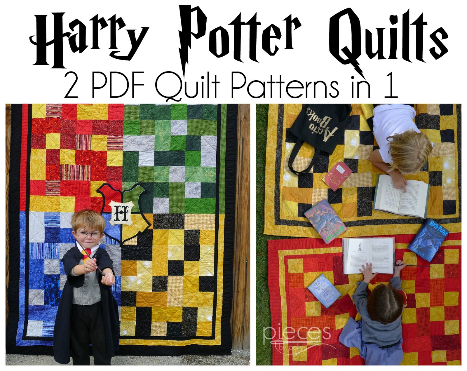 065d9f0a9967 Pieces by Polly: Harry Potter Hogwarts Quilt Patterns Now Available from  PiecesbyPollyQuilts