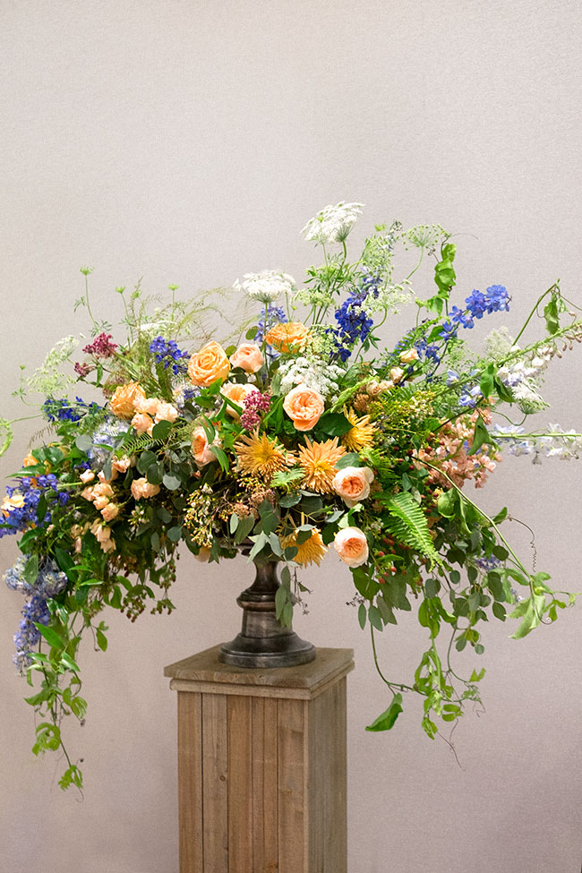 1920s inspired floral arrangement - influenced by Constance Spry