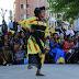 Los senegaleses llevan al centro de Barakaldo los enérgicos ritmos africanos en el día de su país