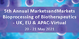 Bioprocessing of Biotherapeutics-UK,EU & APAC