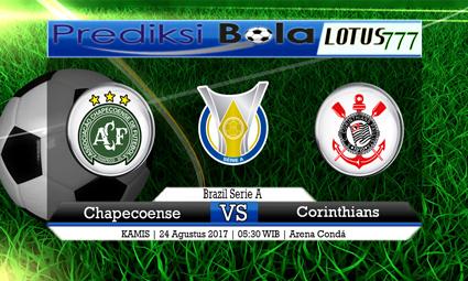 Prediksi Pertandingan antara Chapecoense vs Corinthians Tanggal 24 AGUSTUS 2017