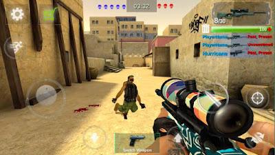 اللّعبة القتالية Counter Attack Team 3D Shooter مهكرة للأندرويد