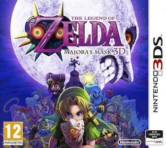 Rom Legend of Zelda Majora's Mask 3D 3DS