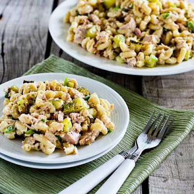 Tuna and Macaroni Salad [from KalynsKitchen.com]