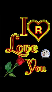 i love you r nameart