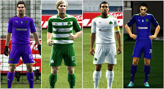 Panathinaikos Fc Kits 2016-2017 Pes 2013 By Argyris