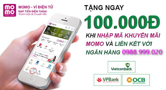 Cách nhận thẻ điện thoại 100k miễn phí với MoMo
