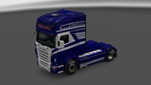 Blue Vabis Skin for Scania RJL