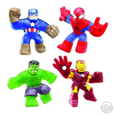 UK Toy Fair 2020 Character Options Heroes of Goo Jit Zu Marvel Superheroes