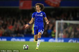 David Luiz, Prediksi Arsenal vs Chelsea, GW6 EPL 2016/2017