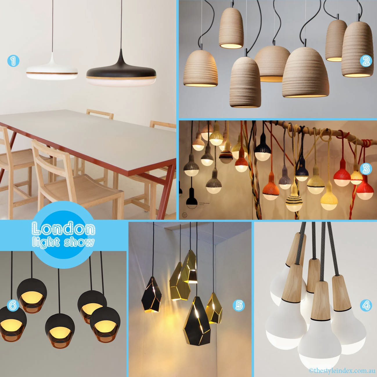 The Style Index London Calling Australian Lighting Designers