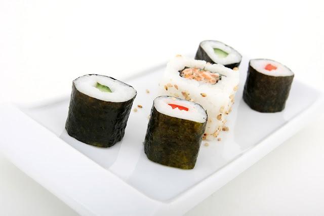 Nutrisi Nori, sushi, rumput laut, makanan pencegah kanker