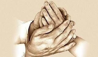 Tangan tuhan selalu menyertai kita