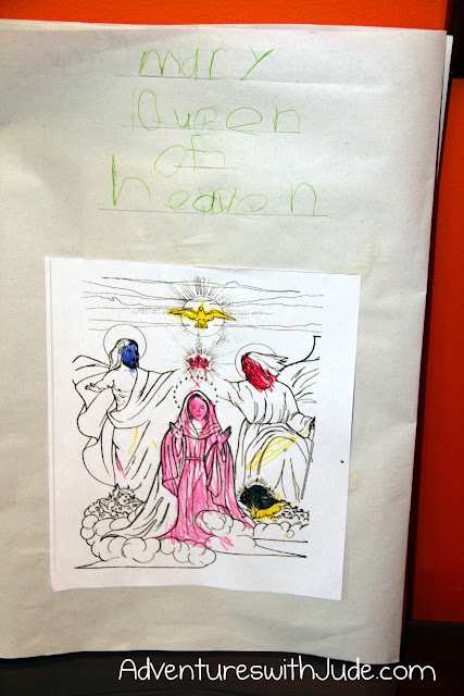 Queen of Heaven Lapbook