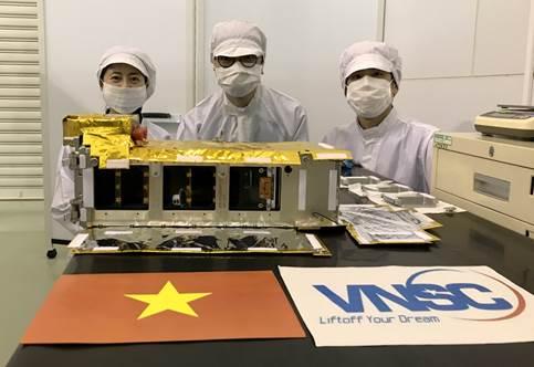 Vệ tinh made in Việt Nam mang tên NanoDragon được phóng vào quỹ đạo
